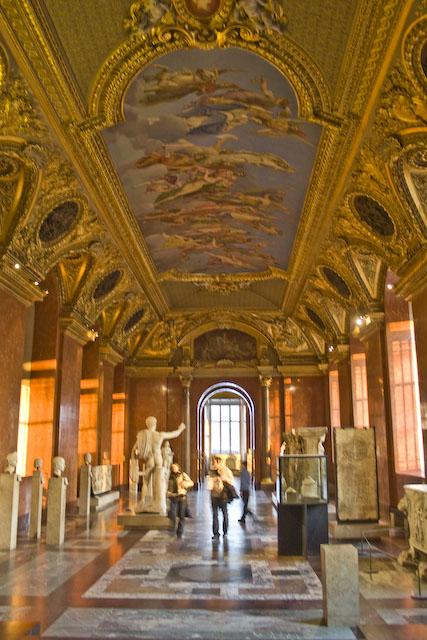 Late afternoon light, Roman antiquities, Louvre-Paris